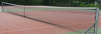 Tennisbanen op Camping De Krabbeplaat - Zuid Holland